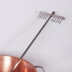 Harfe, Edelstahl